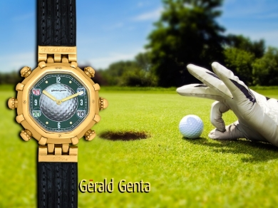 Gerald Genta GOLF BALL and STROKE COUNTERS