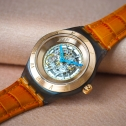 SWATCH Diaphane One Turning Gold