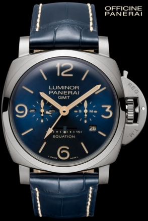 Panerai Equation of Time 8 Days GMT