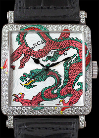 Dragon Myth White Gold