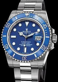 Submariner Date Blue